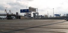 Free Yard At The Ferry - Calais, France Stock Photo - 28423400