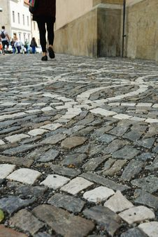 Free Cobblestone Street Stock Photos - 28427343