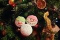 Free Christmas Fruitcake Stock Photography - 28430002