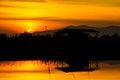 Free Sunset Over Lagoon Stock Photo - 28431690