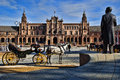 Free Spanish Square In Sevilla, Spain Stock Photography - 28433022
