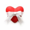 Free Gift For Valentine&x27;s Day. Red Heart Stock Photography - 28434122