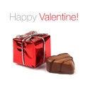 Free Red Valentine Present Box Stock Photos - 28434603