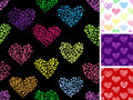 Free Hearts Seamless Pattern Royalty Free Stock Photo - 28436645