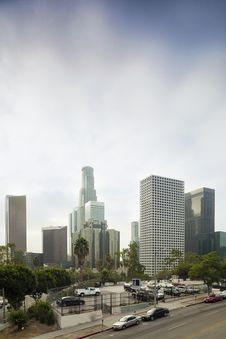 Free Financial District Of Los Angeles Royalty Free Stock Images - 28430089