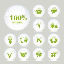 Free Green Symbols Stock Photo - 28430510