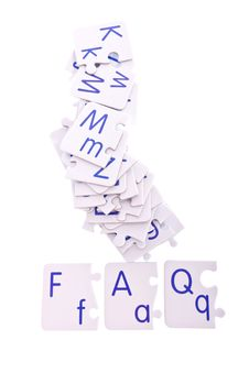 Free Puzzle Abbreviation Stock Photography - 28439102
