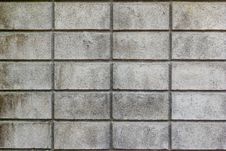 Block Work Wall Texture Royalty Free Stock Photo