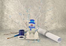 Free The Snowman Royalty Free Stock Photography - 28439737