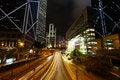 Free Hong Kong At Night Stock Photography - 28447302