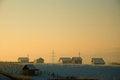 Free Sunshine Houses Stock Image - 28449581
