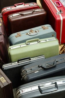 Bag Suitcases Stock Image