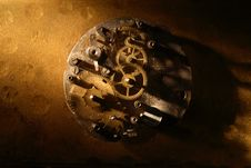 Free Old Clock Mechanism Stock Images - 28443974