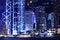 Free Hong Kong Skyline At Night Royalty Free Stock Image - 28447006