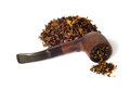 Free Smoking Pipe And Tobacco Royalty Free Stock Photos - 28450438