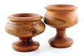 Free Two Wooden Bowls Stock Photography - 28452792