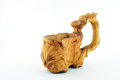 Free Wooden Carved Mug Royalty Free Stock Images - 28452979