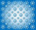 Free Stars In The Shape Of Snowflakes Stock Images - 28457254