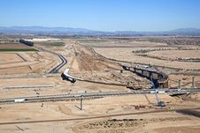 Free Interchange Construction Stock Photos - 28452023