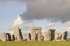 Free Stone Henge Full View Royalty Free Stock Photo - 28452355