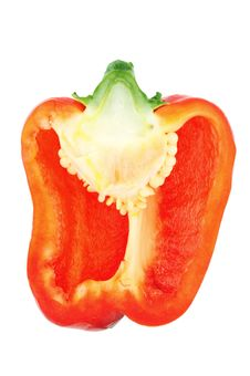 Free Half Red Pepper Royalty Free Stock Photography - 28452567