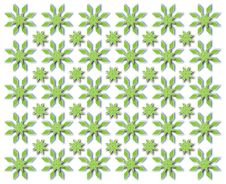 Free Green Snowflakes Stock Images - 28457184