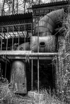 Free Millworks At Roswell Mill Stock Image - 28458911