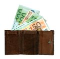 Free Money Wallet Royalty Free Stock Images - 28466849