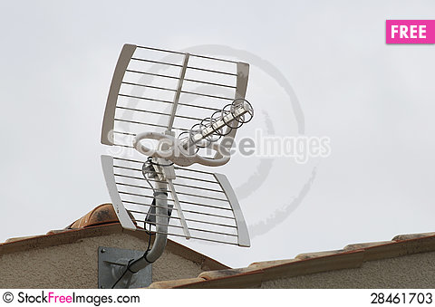 Free TV Antenna Stock Photos - 28461703
