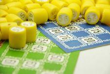Free Bingo Table Game Stock Photo - 28464050