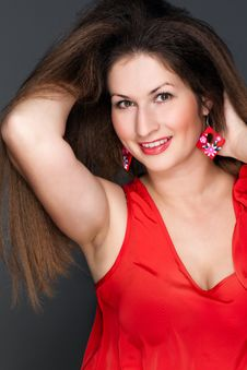 Free Portrait Of A Beautiful Woman Royalty Free Stock Images - 28464079