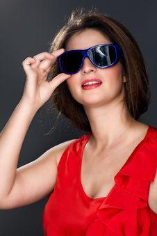 Free Portrait Of A Beautiful Woman Stock Photo - 28464200