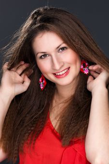 Free Portrait Of A Beautiful Woman Royalty Free Stock Images - 28464229