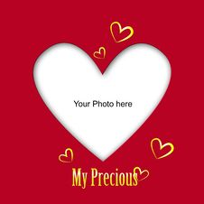 Free Place The Photo Of Your Love Royalty Free Stock Images - 28464659
