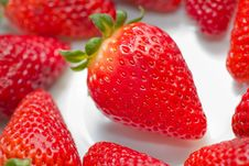 Free Strawberry Detail Stock Image - 28465481