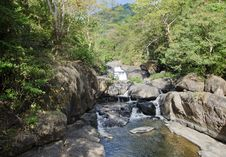 Free Nangrong Waterfall In Nakhon Nayok, Thailand Royalty Free Stock Image - 28466036