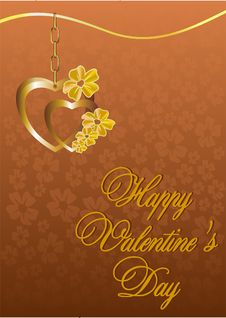 Free Valentine S Day Card Royalty Free Stock Image - 28466086