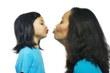Free Happy Mother Daughter Royalty Free Stock Image - 28466126