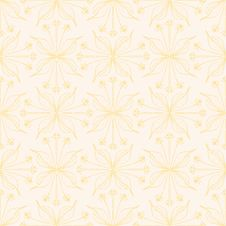Free Elegant Floral Background, Seamless Vector Pattern Stock Images - 28467784