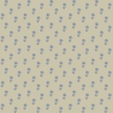 Vector Seamless Pattern, Little Blue Flowers