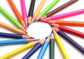 Free Multi Color Pencils Royalty Free Stock Images - 28473919