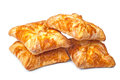 Free Four Pies From Flaky Pastry Royalty Free Stock Photos - 28478488