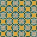 Free Seamless Pattern In Retro Colors Royalty Free Stock Image - 28478736