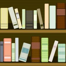 Free Seamless Bookshelf Royalty Free Stock Photography - 28472437