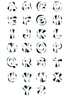 Free Alphabets Elements Design Royalty Free Stock Photo - 28474045