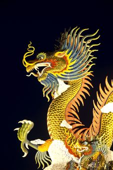 Free Chinese Dragon Stock Photography - 28477232