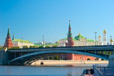 The Kremlin, Moscow Royalty Free Stock Image
