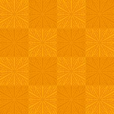 Free Seamless Pattern In Orange Colors Royalty Free Stock Photography - 28478737