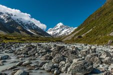 Free Mt.cook South Island New Zealand Royalty Free Stock Photo - 28479295