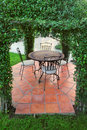 Free Gazebo Pavilion In Garden Royalty Free Stock Images - 28481079